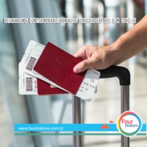 2018 registra 1,4 bilhão de chegadas internacionais